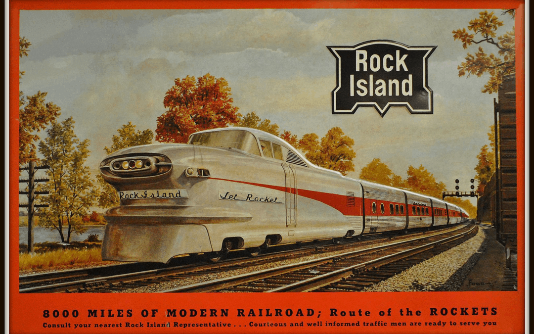 The Golden Era of American Railroads