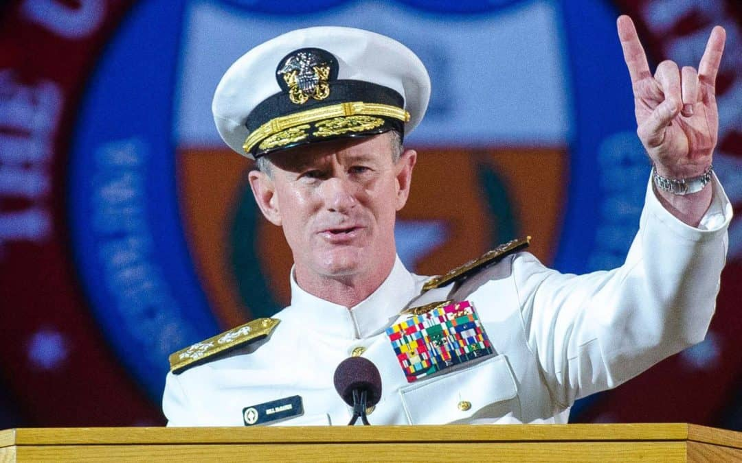 Motivation from a Navy SEAL: Admiral McRaven's Commencement Speech